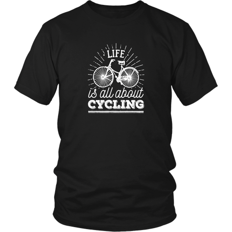Life is all about Cycling