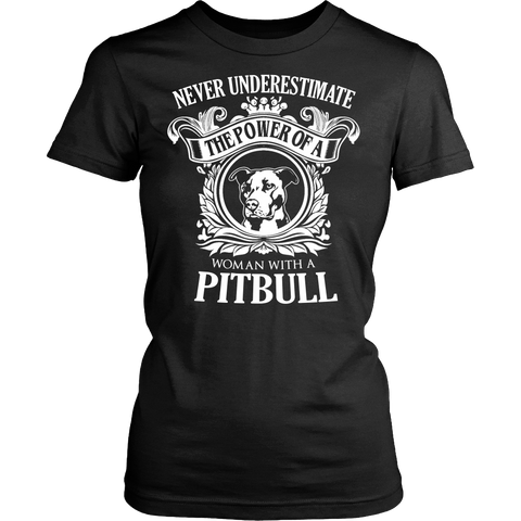 The Power Of A Woman With A Pitbull