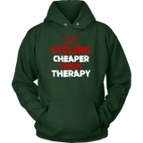 Cycling Cheaper THAN Therapy