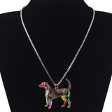 Beautiful Beagle Multicolor Necklace