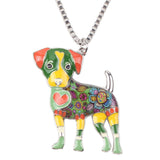 Cute Jack Russell Necklace