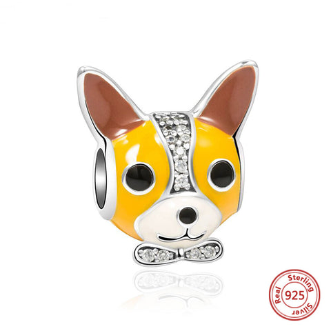 Sterling Silver Chihuahua Charm