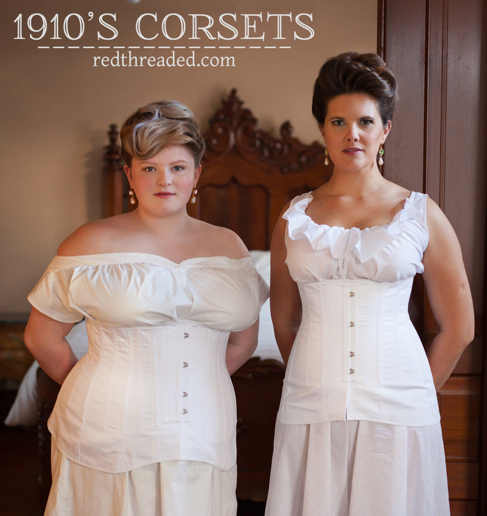 1910's Corsets are Back--Now in Mid Bust & Underbust
