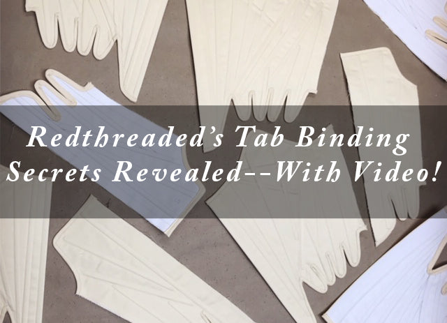 Redthreaded's Binding Secrets Revealed--with Video!