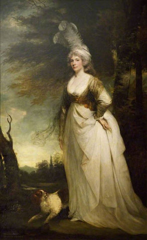 Arabella Diana Cope (1769–1825), Duchess of Dorset by John Hoppner, 1790's