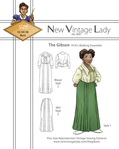 New Vintage Lady Gibson