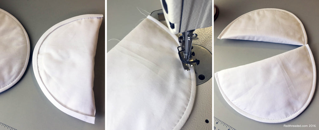 Redthreaded Tailoring Shoulder Pads Corset Padding DIY Tutorial Hack