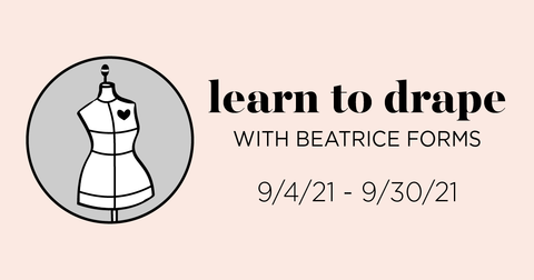 Beatrice Forms Draping Workshop Logo