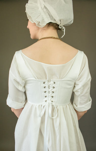 Regency Short Stays -- Custom Sized Made to Order