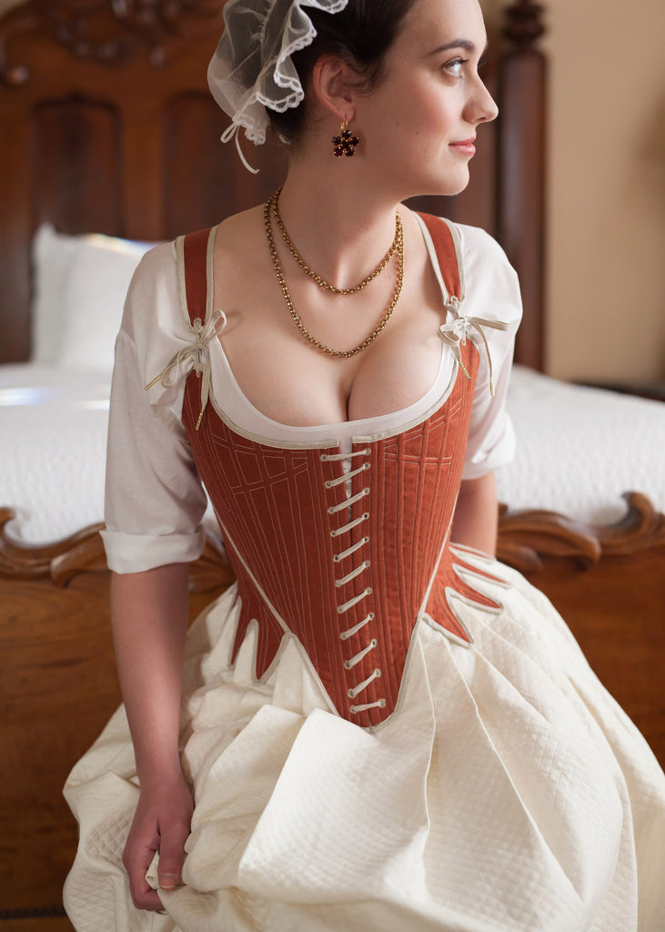 a4ca6361b70 The Antonia Stays - 1780 s – Redthreaded
