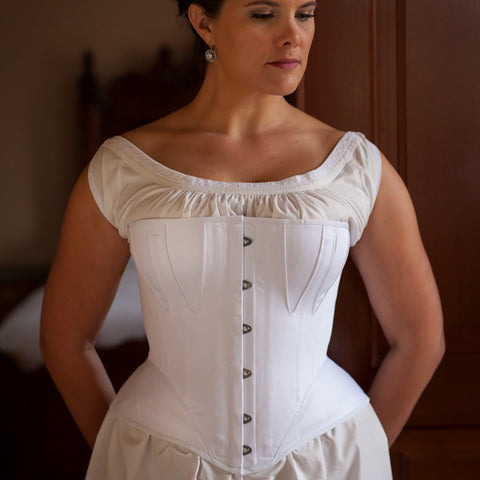 1860's Gored Corset - In Stock