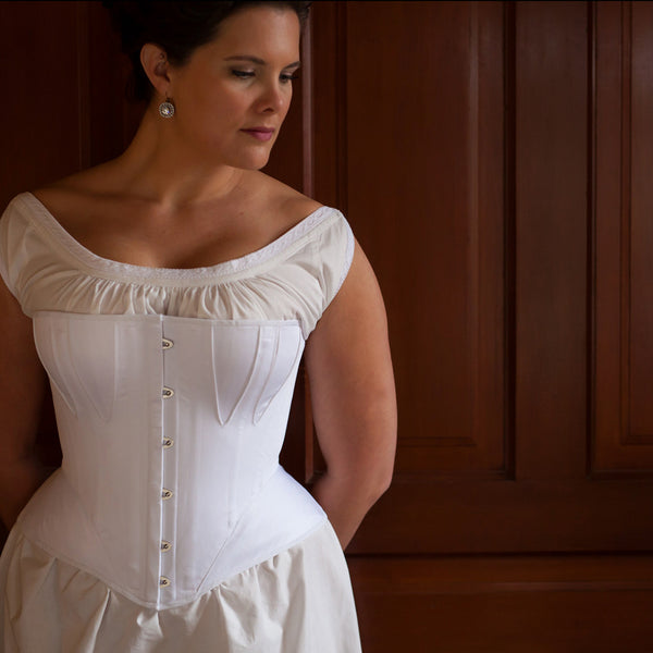 1860's Gored Corset -- Custom Sized Made to Order