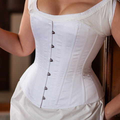 NEW 1880's Victorian Corset -- Ready to Ship in Standard & Plus Sizing