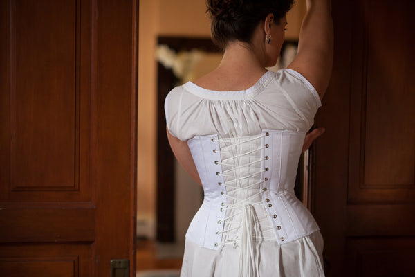 Victorian Corset -- Custom Sized Made to Order