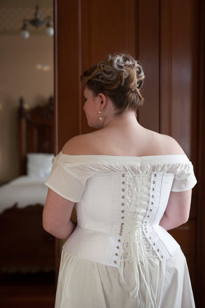 1880's Victorian Corset -- Ready to Ship in Standard & Plus Sizing