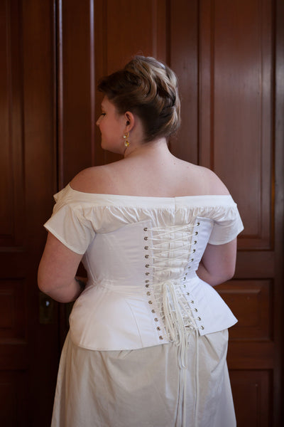 FIT SAMPLE SALE 1900's Edwardian S-Bend Corsets