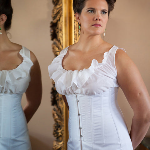 1910's Underbust Titanic Corset -- Ready to Ship in Standard & Plus Sizing