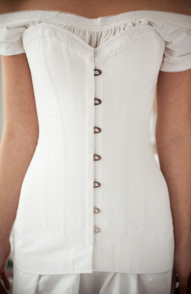 SALE Edwardian Corset -- Titanic Era -- In Stock