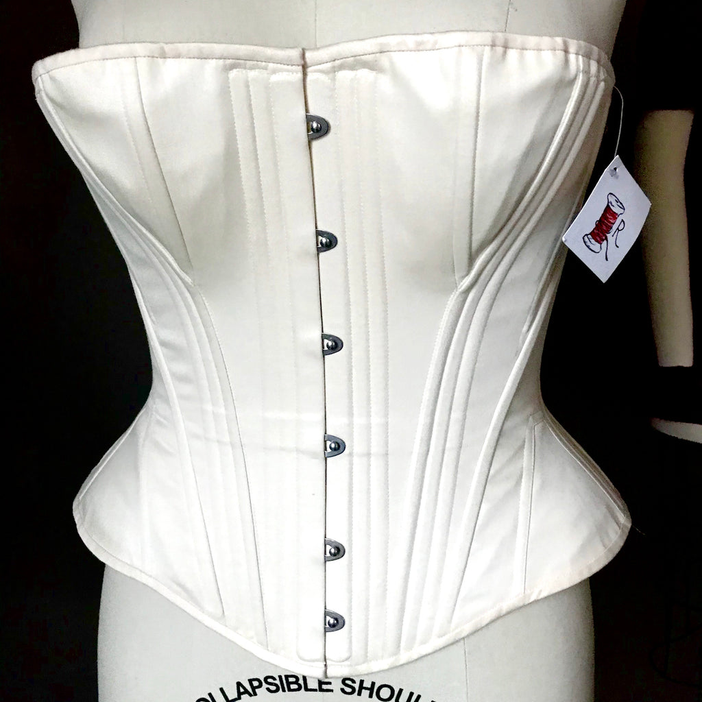 "Sampe Sale - 1870's-80's Synthetic Whalebone corset - 28"" waist"