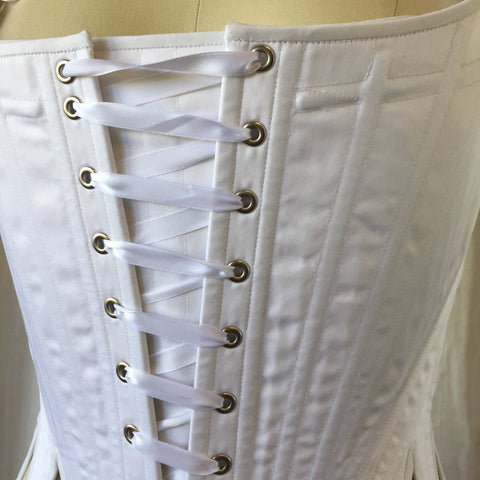 Stomacher for 18th Century Stays - In Stock - STEEL