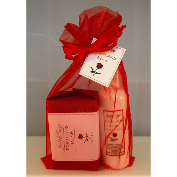 Soap and Lotion Organza Gift Bags