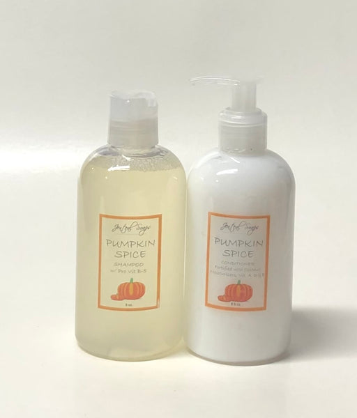 Plant Based Shampoo and Reconstructive Conditioner