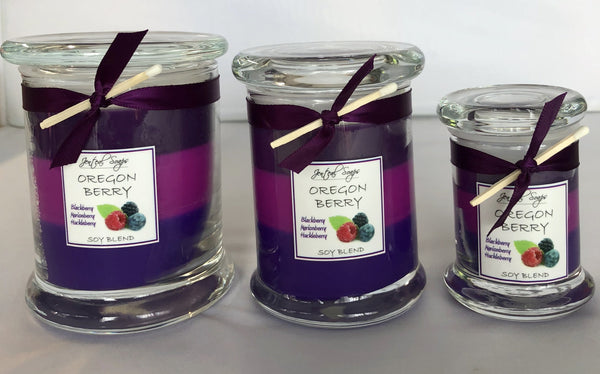 Triple Layer Soy Candles