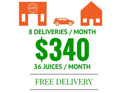 36 JUICES / MONTH - SAVE $20