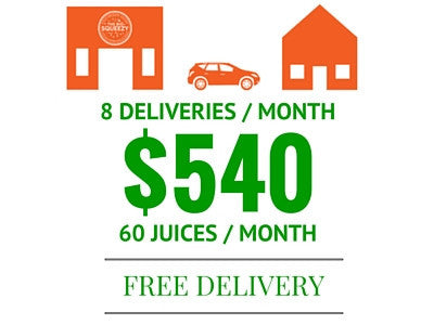 60 JUICES LOCAL / SAVE $60