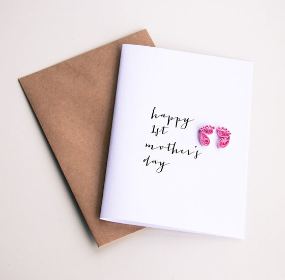 happy 1st mothers day card