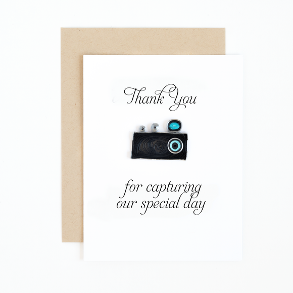 Wedding Thank You Notes For Photographer