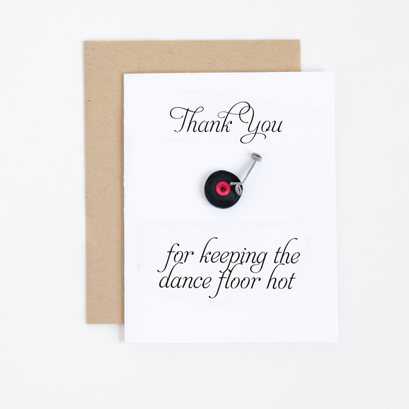 Wedding Thank You Notes For DJ