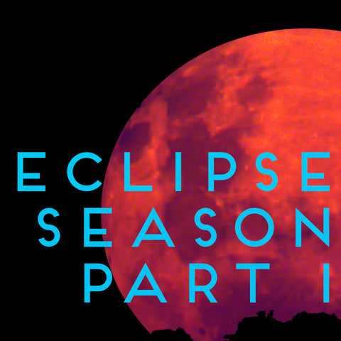 Eclipse Season Part 1: The new moon in Leo, lunar eclipse in Aquarius, and the lunar cycle from July 23rd - August 20th