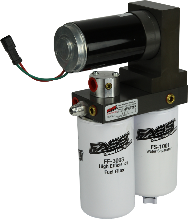 fass fuel pump dodge ram cummins diesel