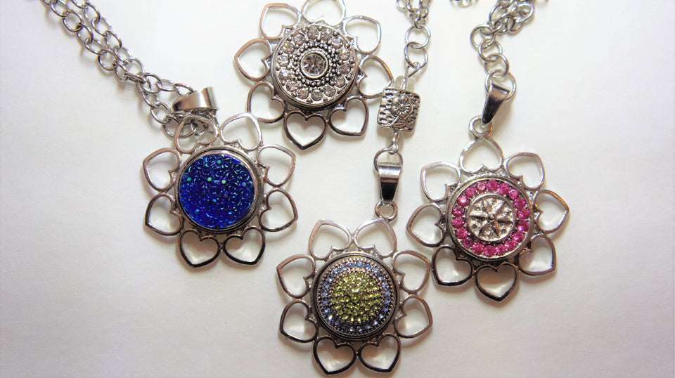 Snap Interchangeable Necklace/Free Shipping