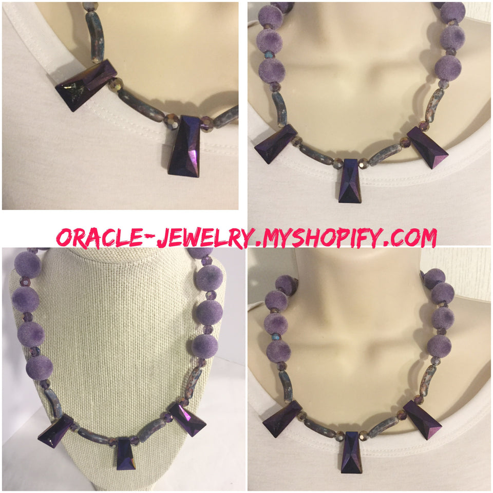 Handcrafted Jewelry with Stone /Free shipping