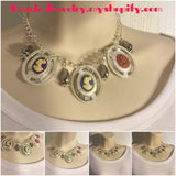 Multicolor Cameo Necklace/Free Shipping - Oracle Jewelry - 1