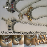 Egyptian Anhk silver necklace/Free Shipping - Oracle Jewelry - 5