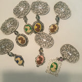 Sliver Vintage Cameo BROOCHES AND PINS - Oracle Jewelry - 1