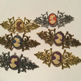 Vintage Cameo BROOCHES AND PINS - Oracle Jewelry - 4