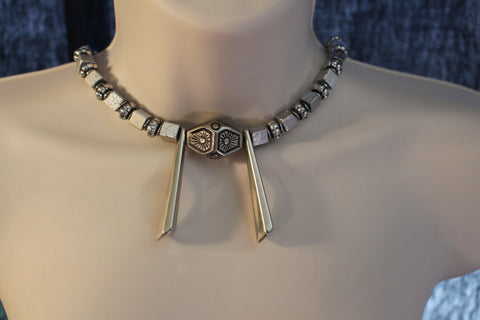 Sliver Statement Necklaces/free Shipping - Oracle Jewelry - 1