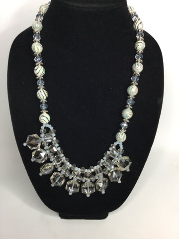 Acrylic statement necklace