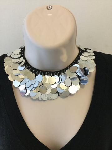 Sliver Necklace Choker/Free Shipping - Oracle Jewelry - 1