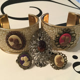 Vinage Cameo Bracelet/Free Shipping - Oracle Jewelry - 3