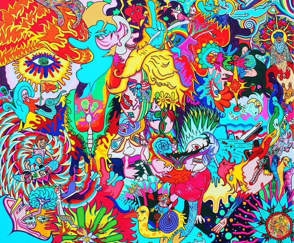 Agents of Change Giclee 4 ft x 5 ft