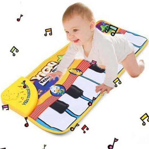 Foxy Baby Piano Playmat