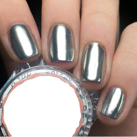 Foxy Chrome Nail Powder