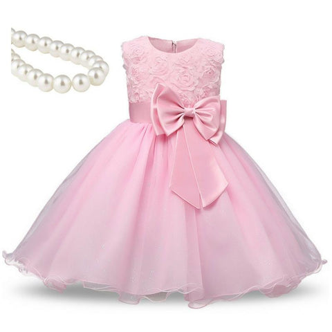 Foxy Girl's Princess Dress + Necklace