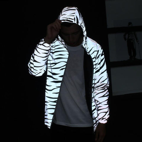 Foxy Reflective HipHop Jacket