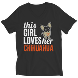 Ladies Classic Shirt - This Girl Loves Her Chihuahua T-Shirt